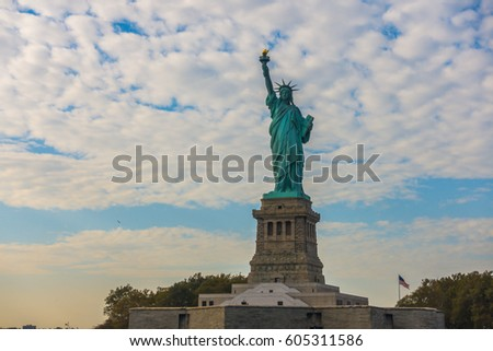 Statue of Liberty, New York City , USA