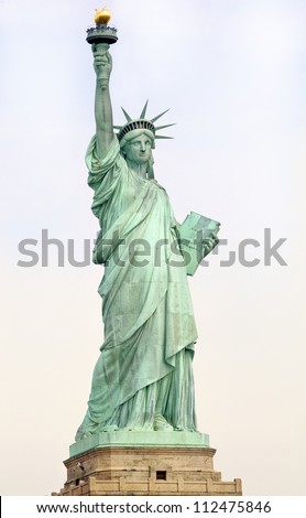 Statue of Liberty. New York, USA - stock photo