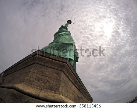Statue of Liberty, New York, USA - stock photo