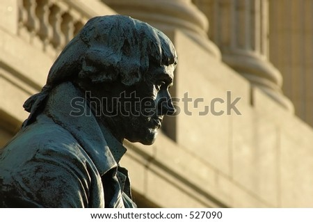 Statue of Thomas Jefferson in Cleveland