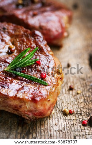 Steak - stock photo