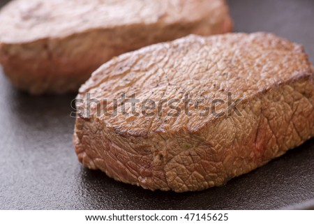 Steak in Pan