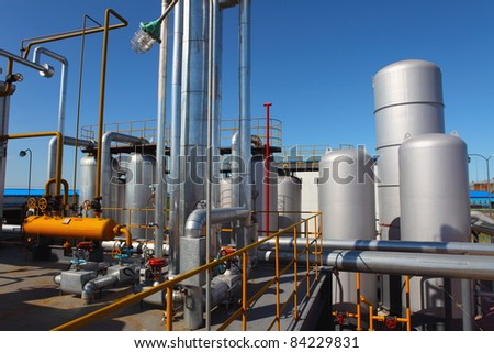 steam-assisted recoveries? asia - stock photo