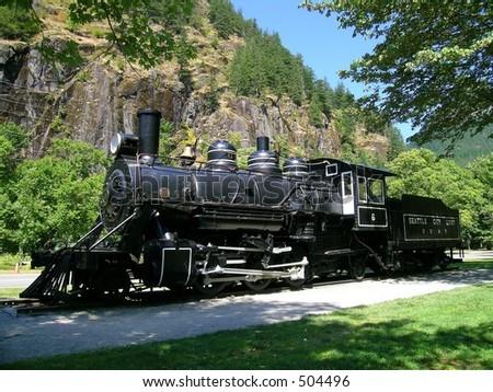 Steam Locomotive, 1926 Baldwin, 2-6-2 - stock photo