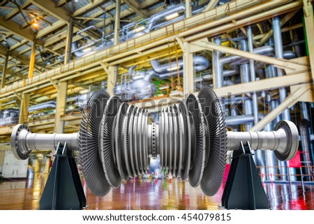 power plant generators.  Plant Steam Turbine Of Power Generator In An Industrial Thermal Plant Intended Power Plant Generators