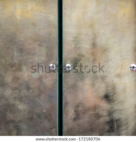steel background/steel background door