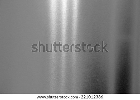Steel background texture with light effects. - stock photo