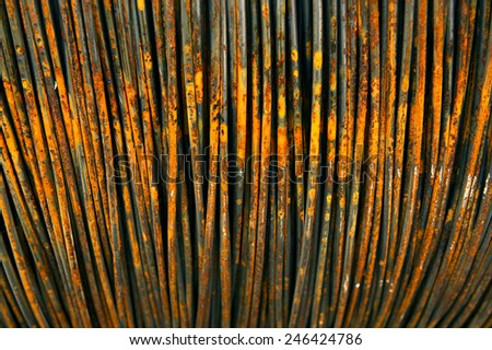 steel bar - stock photo