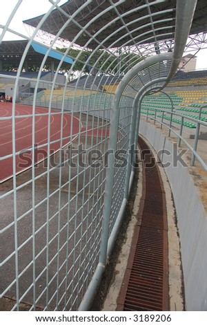 steel barrier to prevent invasion of pit