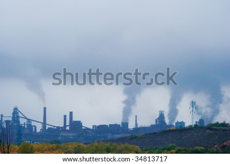 steel company pollution