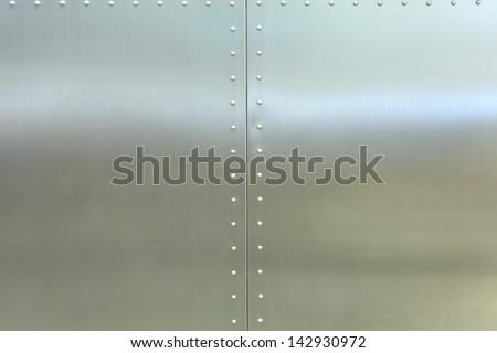 steel design background - stock photo