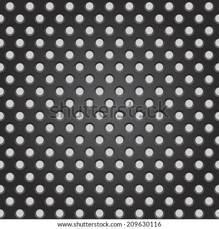 Steel grate background pattern illustration - stock photo