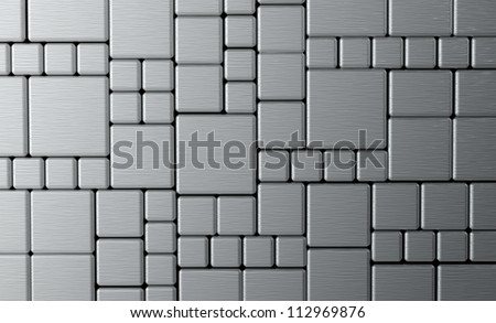 Steel metal plate background or texture
