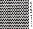 Steel, metallic seamless texture, background - stock photo