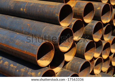 Steel pipes for mechanical engineering