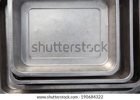 steel plate/steel - stock photo