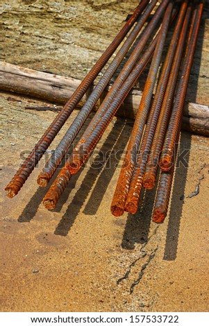 Steel rebar for Construction