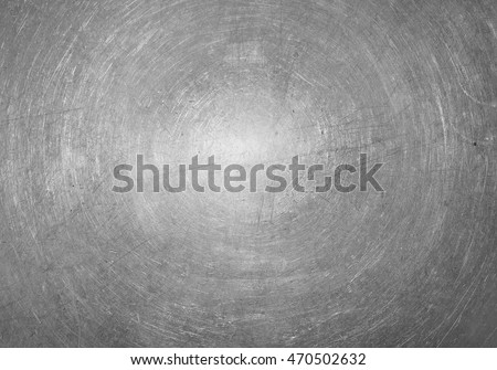 Steel texture of the scratched metal surface