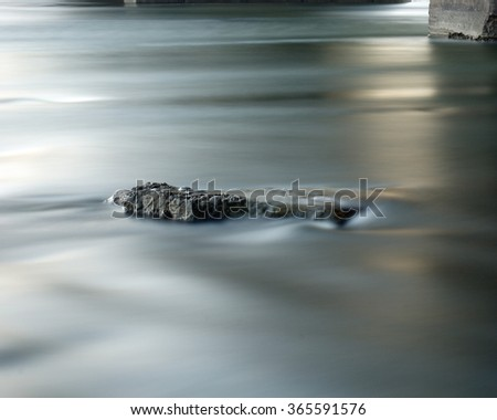 Steel Water.  Long exposure Photography