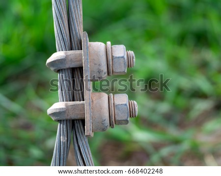 Steel Wire Rope Sling Clip On Stock Photo (Edit Now)- Shutterstock