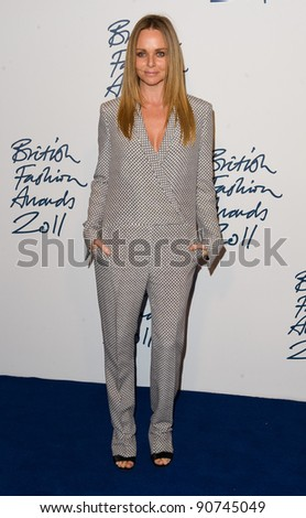 Stella McCartney arriving for the 2011 British Fashion Awards, at The Savoy, London. 28/11/2011 Picture by: Simon Burchell / Featureflash - stock photo