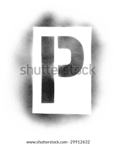 letter and number stencils for painting stencil letters stock images royalty free images 24227 | stock photo stencil letters in spray paint 29912632