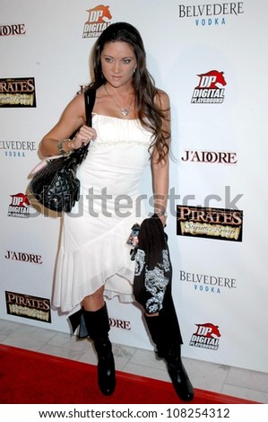 Stephanie Swift  at the Premiere of 'Pirates 2'. Orpheum Theatre, Los Angeles, CA. 09-27-08