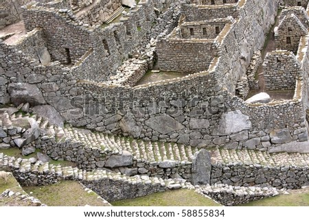 Steps, Stones and Stairs, Machu Picchu, Peru