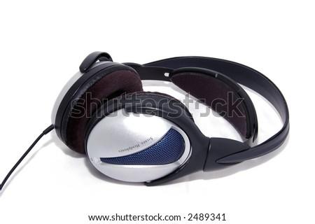Stereo HeadPhones - stock photo