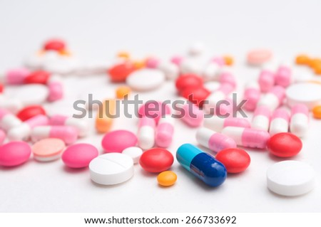 Steroids for physical development of human body as medical's pills.