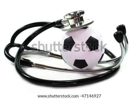 Stethoscope with football
