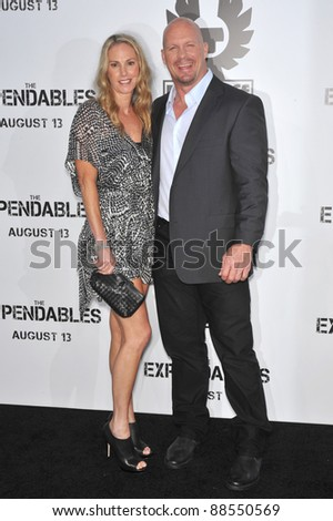 """Steve Austin at the world premiere of his new movie """"The Expendables"""" at Grauman's Chinese Theatre, Hollywood. August 3, 2010  Los Angeles, CA Picture: Paul Smith / Featureflash - stock photo"""