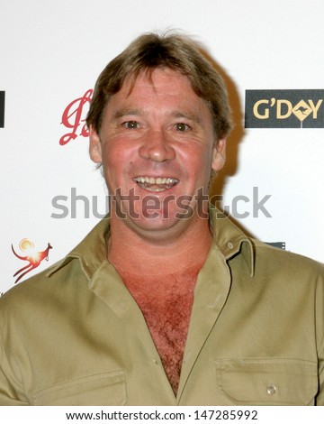 Steve Irwin Penfolds Icon Gala Dinner Palladium  Los Angeles, CA January 14, 2006 - stock photo