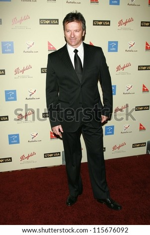 Steve Waugh at the G'Day USA Penfolds Black Tie Icon Gala. Hyatt Regency Century Plaza, Los Angeles, CA. 01-13-07 - stock photo