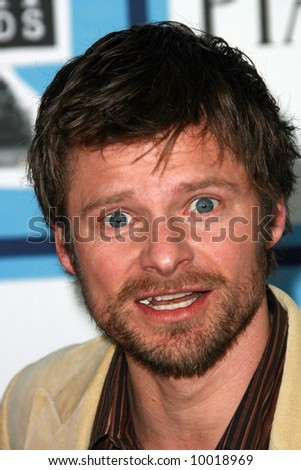 Steve Zahn at the 2008 Film Independent Spirit Awards at Santa Monica Beach, Santa Monica, California