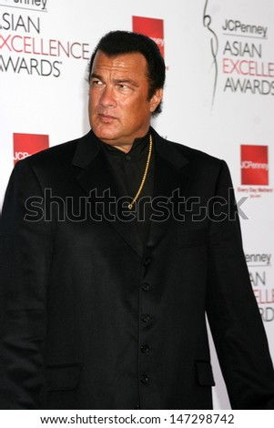 Steven Seagal Asian Excellence Awards 2008 Royce Hall Westwood, CA April 23, 2008 - stock photo