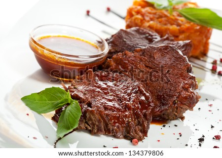 Stock options veal demi glace