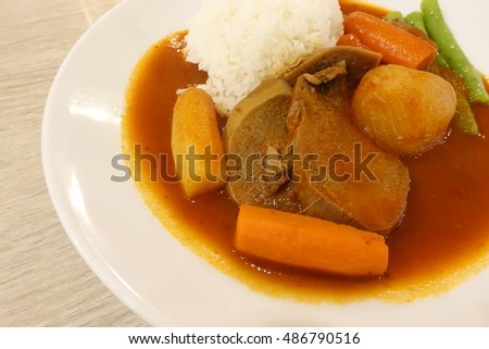 Stew ox Tongue