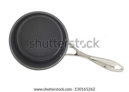 Stewpot with non-stick coating - stock photo
