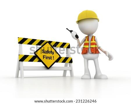stick figure - stock photo