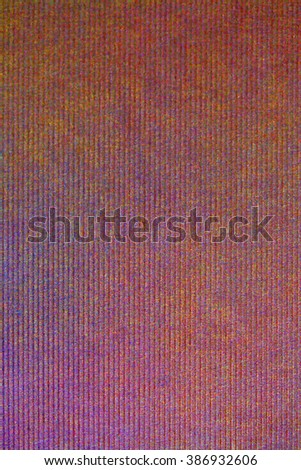 Still life close up detail of a textured patchy natural piece of paper with thick uneven background texture. Full frame blank page color canvas, paper objects, multicolor backdrop. - stock photo