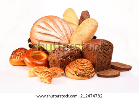 Still life of bread - stock photo