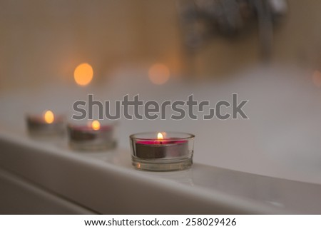 Still Life With Candles Bathroom