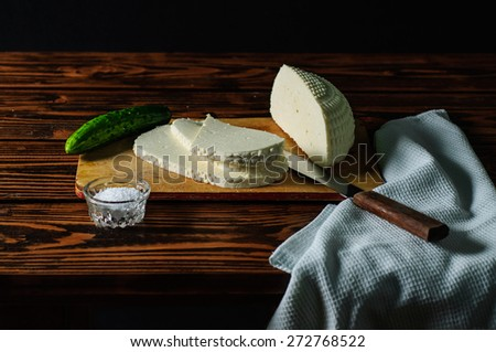 still life with house-made cheese