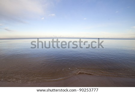 Still sea. - stock photo