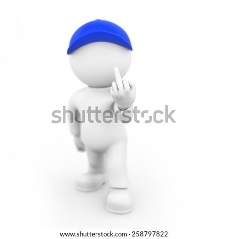 Stinky Fingers - stock photo