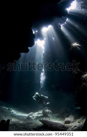 StJohns-caves - stock photo
