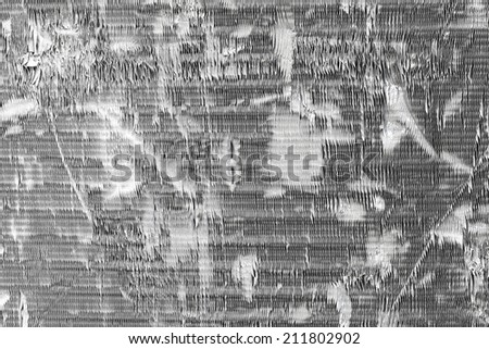 Stock background texture of damaged air conditioner fins. - stock photo