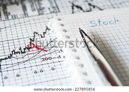 Stock Chart Analysis, writing the result