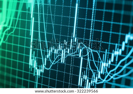 Stock exchange graph screen background figures forex company management investor commerce dollar graph risk sell finance accounting economics planning diagram wealth business bar earnings   - stock photo